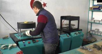 Bu makine tek başına bir fabrika