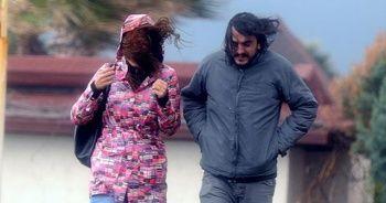 Bursa için kuvvetli rüzgar ve fırtına uyarısı