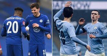 Chelsea ve Manchester City, FA Cup'ta 4. turda