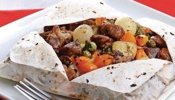 Evde Tavuklu Kağıt Kebabı Nasıl Yapılır? Kağıt Kebabı Nasıl Katlanır?