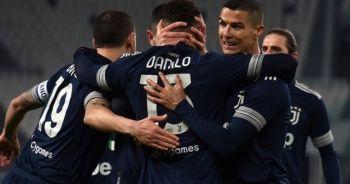 Juventus, Sassuolo'yu 3-1 yenerek zirve yarışını sürdürdü