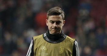 Juventus'ta Dybala sakatlığı sebebiyle bir süre forma giyemeyecek