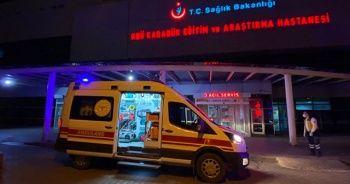 Karbonmonoksitten zehirlenen Suriyeli 8 kişilik aile hastaneye kaldırıldı