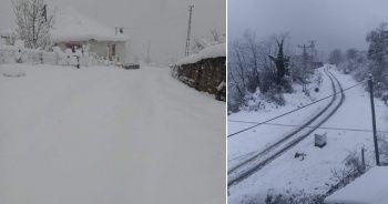 Köylere ulaşım kapandı, vatandaşlar elektriksiz kaldı