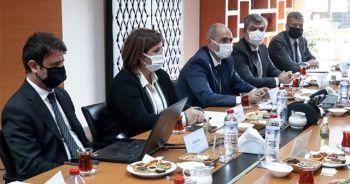 Kuzey Makedonya'dan gelen heyet TARSİM'de ağırlandı