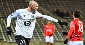 Lille, Burak Yılmaz'ın attığı golle Nimes'i mağlup etti