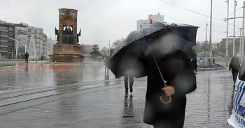 Meteoroloji'den İstanbul'a kuvvetli yağış uyarısı!