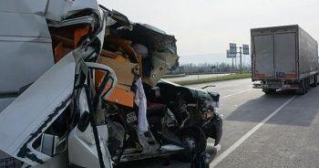 Milli motosikletçi kaza geçirdi