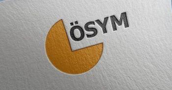 ÖSYM Başkanı Aygün: 2020-KPSS sıralamalarınız güncellenmiştir