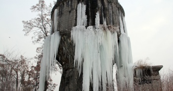 Sibirya soğukları Ağrı'yı dondurdu