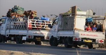 Türkiye'ye sığınan 100 Iraklı göçmen ülkesine döndü