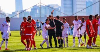 Ümraniyespor-Samsunspor maçında fair-play örneği