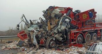 Yozgat'ta trafik kazası: 3 ölü