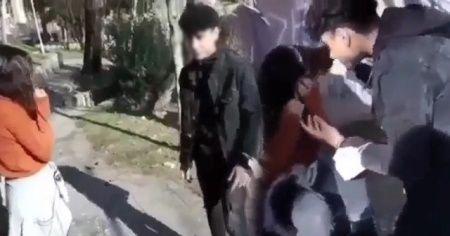18 yaşından küçük kız arkadaşını darp etti