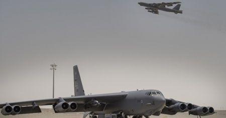 ABD'nin iki bombardıman uçağı Basra Körfezi'ne geçti