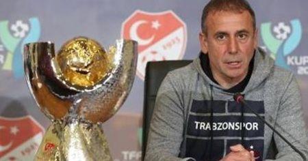 Abdullah Avcı: Hedefimiz bu kupayı yarın 9. kez almak