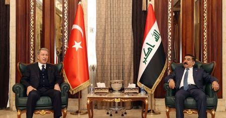 Bakan Akar: PKK ile mücadelede Irak'la işbirliğine hazırız