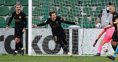 Barcelona, Elche deplasmanından galibiyetle döndü