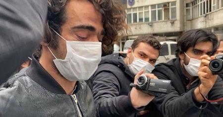 Beşiktaş'ta dehşeti yaşatan saldırgan adliyeye sevk edildi