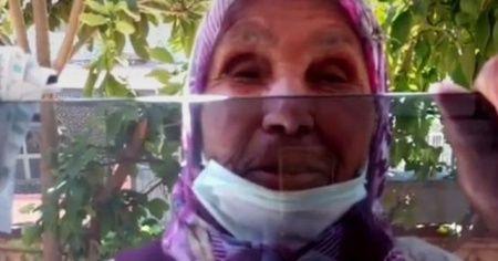 Cinayete kurban giden yaşlı kadının son görüntüleri ortaya çıktı