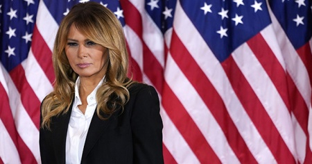 First Lady Melania Trump veda etti