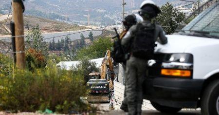 İsrail, Filistinli şehidin anıtını yıktı