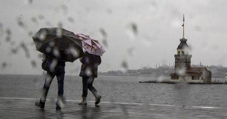 İstanbul'da öğleden sonra yağmur bekleniyor