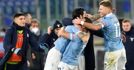 İtalya Serie A'da başkent derbisini Lazio kazandı