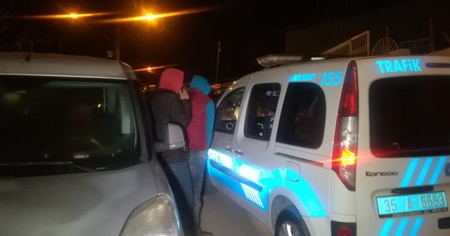 Dur ihtarına uymayan 3 kişiye 11 bin lira ceza