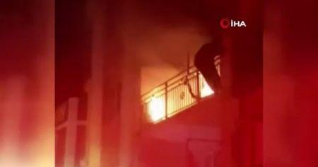 İzmir'deki yangında dumandan etkilenen kadın öldü