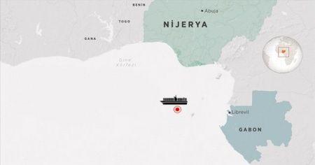 Kaçırılan Türk gemisi Gabon'da: Adım adım takip ediliyor