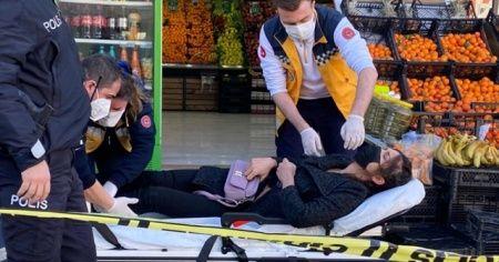 Kadıköy'de manavda silahlı saldırı: 1 yaralı