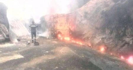 Kamerun'da katliam gibi kaza: 53 ölü, 21 yaralı