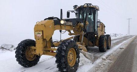 Kilis'te yılın ilk kar yağışı