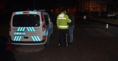 Kısıtlamada polisten kaçtı! Uyuşturucu testi pozitif çıktı