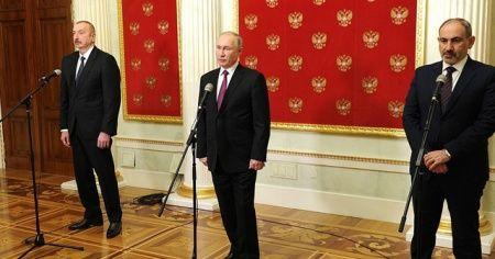 """Moskova'da """"Dağlık Karabağ Zirvesi"""" sona erdi"""