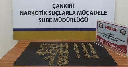 Polisler ele geçirilen uyuşturucu ile 'ohh ohh' yazarak Bakan Soylu'ya destek verdi
