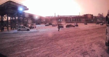 Rusya'da petrol rafinerisinde patlama: 2 ölü