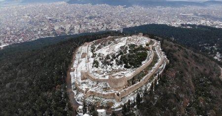Tarihi Aydos Kalesi'nden kartpostallık görüntüler