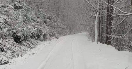 Tekirdağ'da kar kalınlığı 10 santimetreye ulaştı