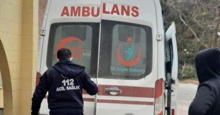 Üzerine alçıpan düşen işçi yaralandı