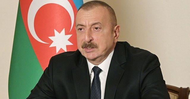 Aliyev'den Ermenistan açıklaması