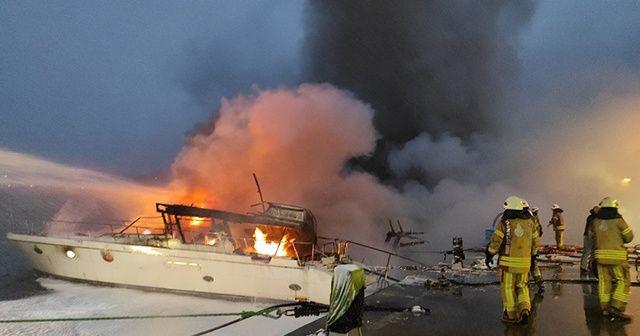 Bebek Sahili'ndeki yat yangının sebebi trafo patlaması çıktı