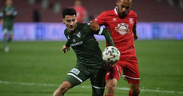 Bursaspor iki sezon sonra bir ilki yaşadı