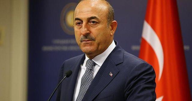 Çavuşoğlu, Fuad Hüseyin'le telefonda görüştü.