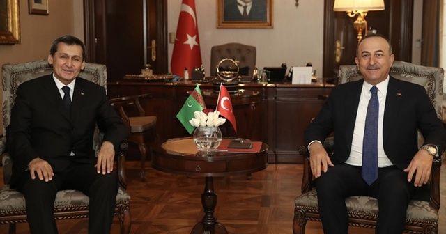 Çavuşoğlu: Türkmen gazının Avrupa'ya ulaşması için üzerimize düşeni yapmaya hazırız
