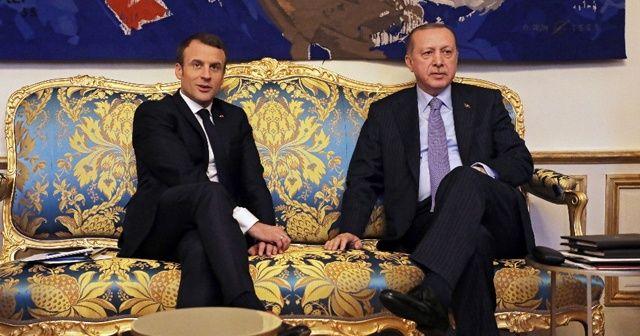 """Fransız basınından """"Macron ve Erdoğan görüşecek"""" iddiası"""