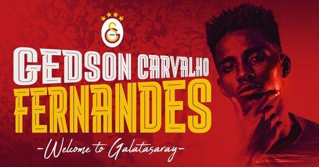 Galatasaray, Gedson Fernandes'i kiraladı