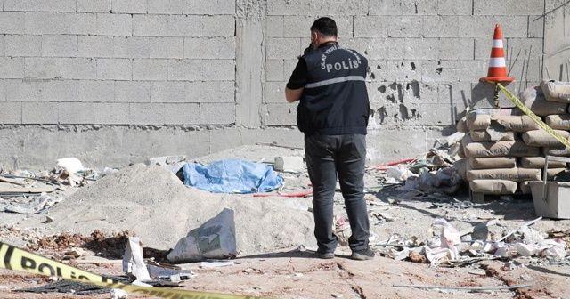 İnşaatın 9'uncu katından düşen işçi öldü