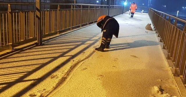 İstanbul'da ilçe ilçe kar kalınlığı açıklandı